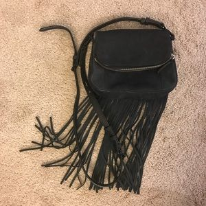 Rebecca Minkoff Saddle Fringe Crossbody Purse